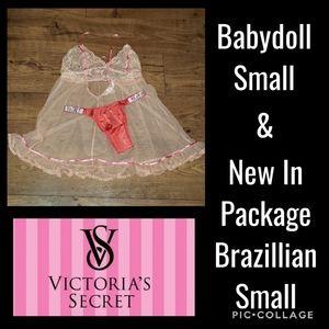 Victoria's Secret S & NIP Bling Panty S